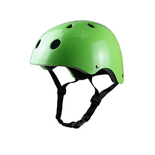 Tourdarson Adult Skateboard Helmet Specialized Certified Protection Sport for Scooter Skate Skateboarding Cycling (GreenLarge)