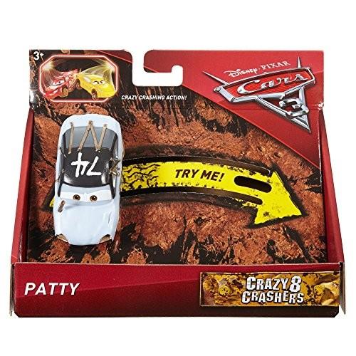 Disney Pixar Cars 3 Crazy 8 Crashers Patty Vehicle 1:55 Scale