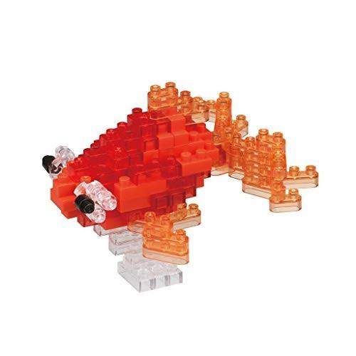 Nanoblock Popeyed Goldfish Red Building Kit