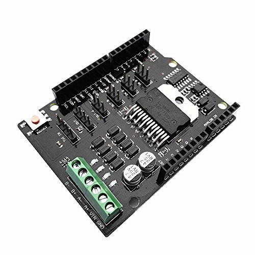 diymore Dual Channel DC Motor Driver Shield Expansion Board L298NH Drive Module Replace L298P for Arduino UNO R3 MEGA2560