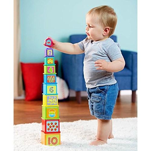 PlayGo Stick & Stack Blocks