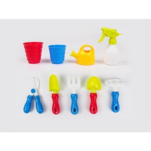 DanyBaby Mini Gardening Set for KidsPlaying &Learning Garden