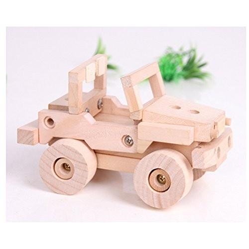 Sala Trend Children Wooden Off Road Truck Building Kit