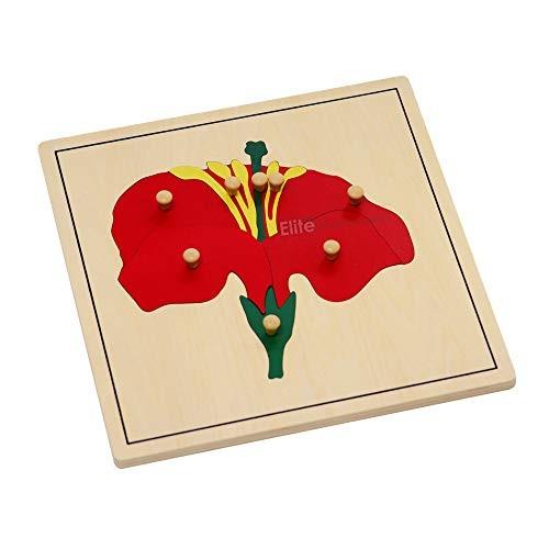 Elite Montessori Flower Puzzle