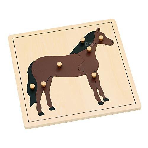 Elite Montessori Horse Puzzle Preschool Learning Material