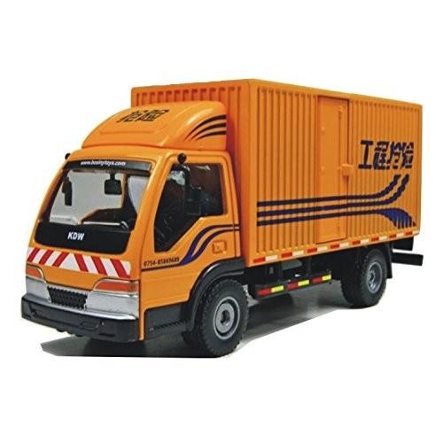 Tipmant Alloy Children Die-cast Vehicle Model Toys Engineering Van Truck Transpoter Diecast Car Kids Gift 1 50 – Yellow
