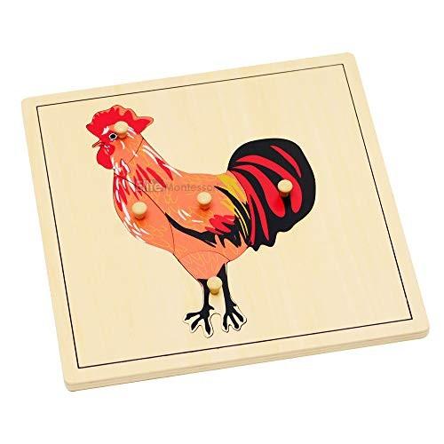 Elite Montessori Rooster Puzzle