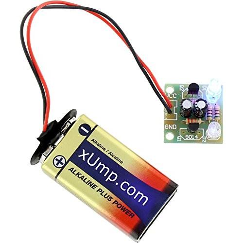 xUmpcom DIY Flashing LED Circuit Kit