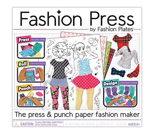 Kahootz Fashion Press Paper Maker Deluxe Activity Kit