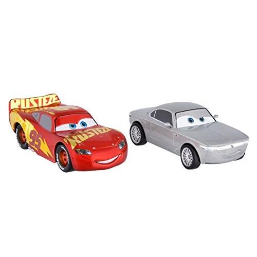 Disney/Pixar Cars 3 Lightning Mcqueen and Sterling Die Cast Twin Pack