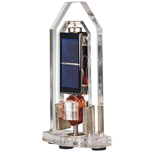 Sunnytech Solar Magnetic Levitation Model Levitating Mendocino Motor Educational Vertical Stand ST18