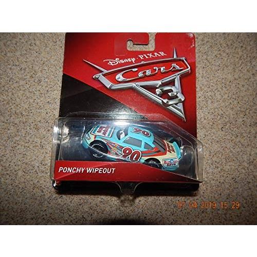 Disney / Pixar CARS 3 Movie 1:55 Die Cast Car #90 Bumper Save Ponchy