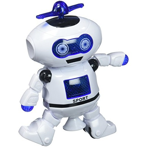 Susenstonexae Electronic Walking Dancing Smart Space Robot