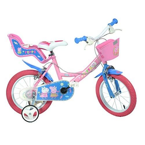 Dino Bikes 144R-PIG Peppa Pig Finding Dory Bicycle Kids Bike Pink