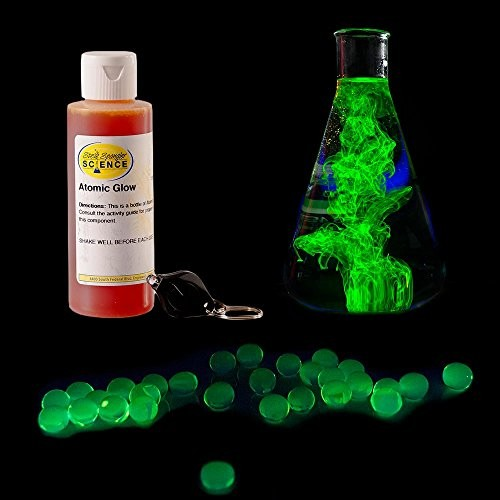 Steve Spangler's Atomic Glow Concentrate Science Experiment Fun for Kids 4oz Bottle