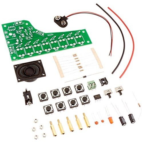 Electronic Piano Soldering Kit Intermediate Level by Electronix Express