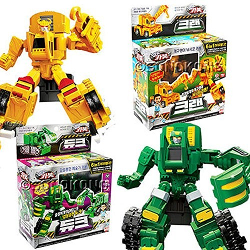HELLO CARBOT CRAN+ DUKE Combination Robot Transforming Toy