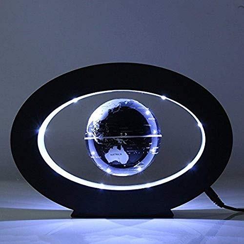 FUZADEL Floating Globes Levitating Levitation Globe Magnetic World Map Colorful LED Lamp