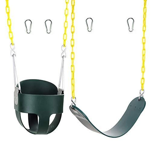 High Back Full Bucket Swing and Heavy Duty Swing Seat – Swing Set Accessories