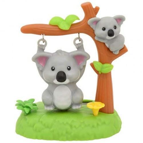 Solar Powered Plastic Swinging Koala Bears