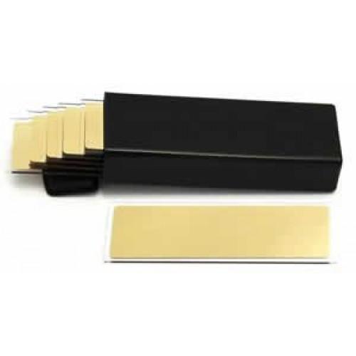 Gold Coated Microscope Slide