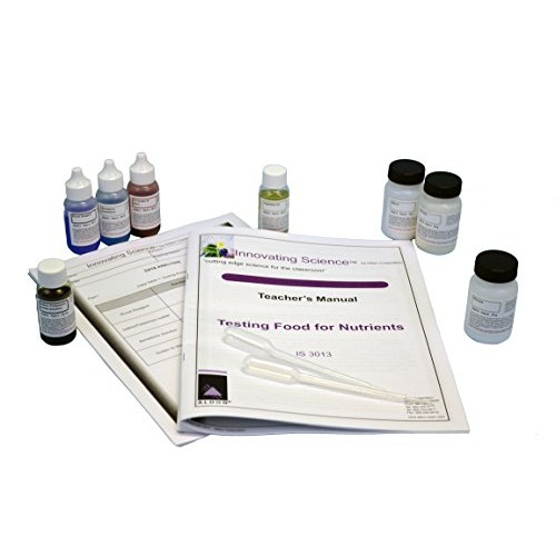 Innovating Science Testing Food for Nutrients Chemistry Kit Material 15 Groups of Students