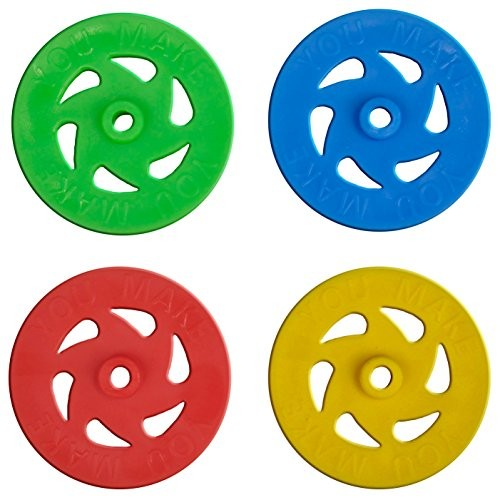 You Make Plastic Project Wheels with 1 8 Hole – Pack of 100 pcs Designed for Science and Engineering Car Projects