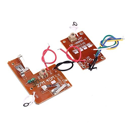 IS Icstation 27Hz Simple 4 Channel Radio RC Transmitter Receiver Kit for DIY Remote Control Boat Car Projects