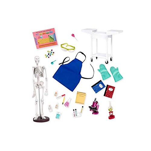 Our Generation by Battat- Schoolroom Science Lab for 18 Dolls- Toys Playsets & Accessories Ages 3 Years Up