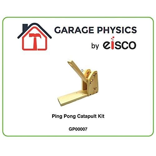 Eisco Garage Physics Ping-Pong Catapult Kit