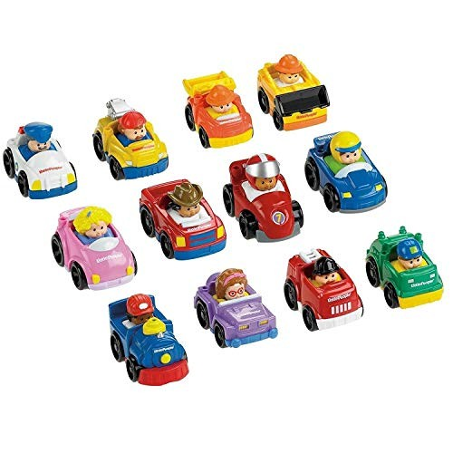 Little People Wheelies Vehicles – 6 Pack