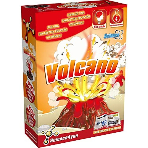 Science4youVolcanos Toy Scientific and Educational Stem 480169