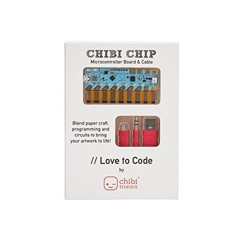 Chibitronics Love to Code – Chibi Chip with Cable