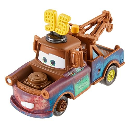 Disney Pixar Cars Mater with #95 Hat