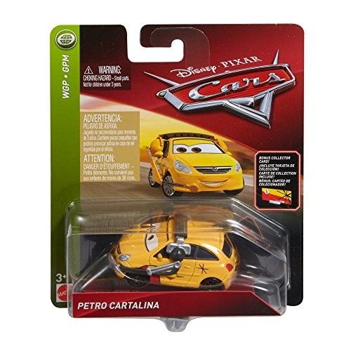 Disney Pixar Cars Die-cast Miguel's Crew Chief With Accessory Card Vehicle