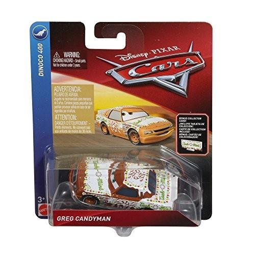 Disney Pixar Cars Die-cast Tach O Mint With Accessory Card Vehicle
