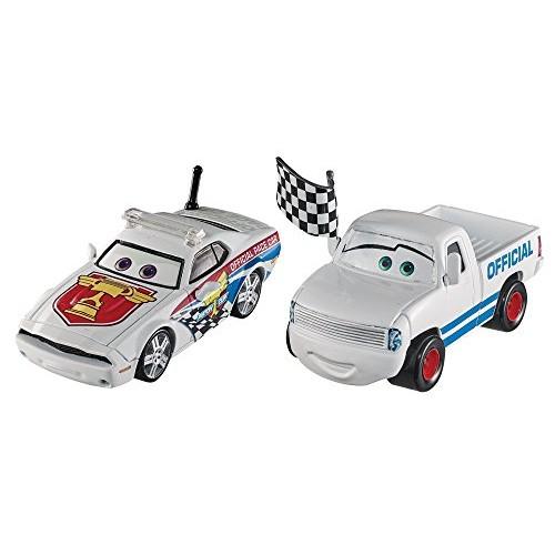 Disney Pixar Cars Character Car Race Starter & Pace Car Vehicle 2 Pack