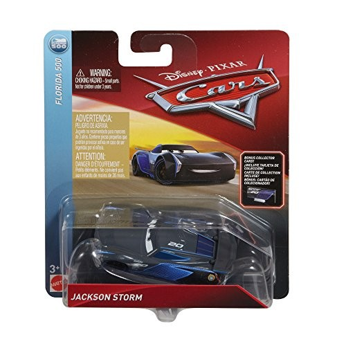 Disney Pixar Cars Die-cast Jackson Storm with Accessory Card Vehicle