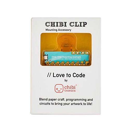 Chibitronics Love to Code LTC – Chibi Clip