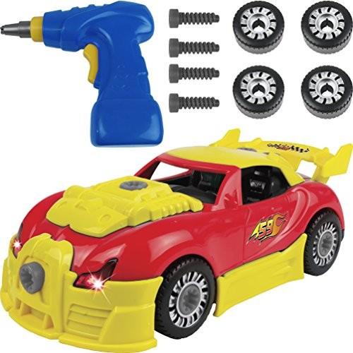 Kangaroo's Take Apart Toys; Take Apart Car Toy Race Car – Deluxe