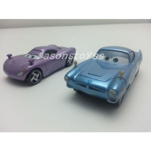 Hand Mate Car Toys Pixar 1:55 Scale Diecast 2 Finn McMissile & Holly Shiftwell