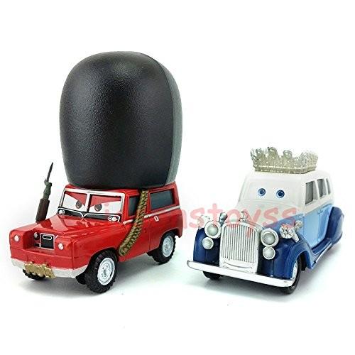 Hand Mate Car Toys Pixar 1:55 Scale Diecast 2 The Queen & SGT Highgear