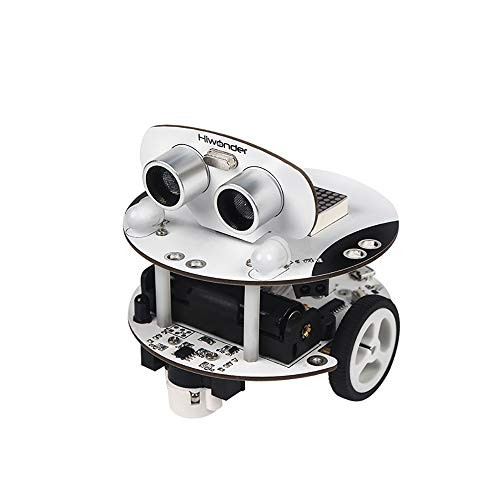 Programmable Smart Robot Car Kit Arduino STEM Toy Qbot Scratch 30 with Ultrasonic Sensor Line Tracking Bluetooth Module Infrared Remote Control Mobile APP for Education