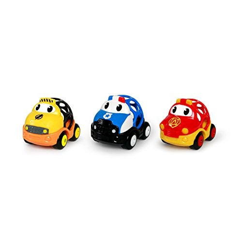 Constructive Playthings 10990OBALL Go Grippers Emergency Vehicles Multicolor 275 x 35 x 275