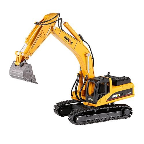 Goolsky HUI NA Toys 1710 1 50 Excavator Engineering Vehicle with Alloy Bucket Kids Toy Gift Housing Decoration Collection