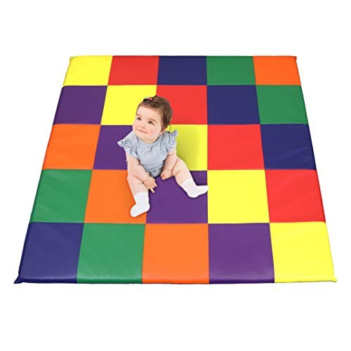 Dream Tree Puzzle Play Mat with Washable Safe Non-Toxic CPSIA Compliant Soft Foam Activity Playmat for Baby Infants and Kids