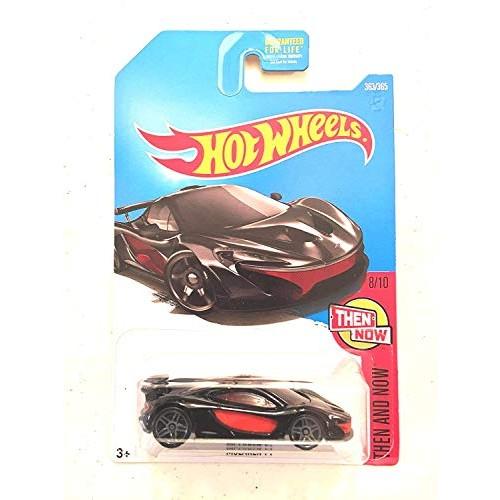 Hot Wheels 2017 Then and Now McLaren P1 363/365 Black