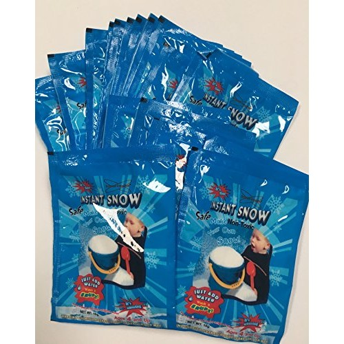 Science Gone Fun 200 Grams of Instant Snow Powder Will Make About 80 Cups Fluffy Instantly Brand
