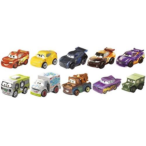 Disney Pixar Cars: Micro Racers Vehicle 10 Pack [Amazon Exclusive]