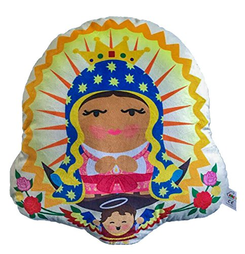 Sacred Heart Toys Play and Pray Cuddle Buddy Pillow Our Lady of Guadalupe